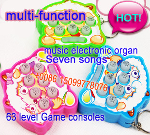 63 level game consoles play hamster game machine baby infant children educational toys age of 3