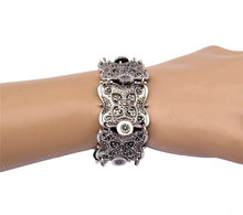 Buy H:HYDE Punk Vintage Wide Cuff Bracelet Bohemian Ethnic Bracelet Coin Silver Color Wristband Bracelets Women Men for $2.37 in AliExpress store