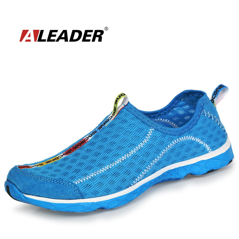 Light Summer Mens Running Shoes Mesh Breathable Women Sport Shoes Men Sneakers Outdoor Slip On Aqua Water Shoe zapatillas hombre(China (Mainland))