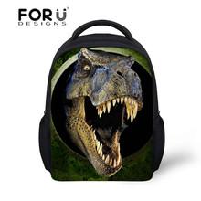 2016 Newest Small Child School Bag for Boys Backpack,3D Animals Dinosaur Back pack for Kids,Girls Small School bag for Child(China (Mainland))