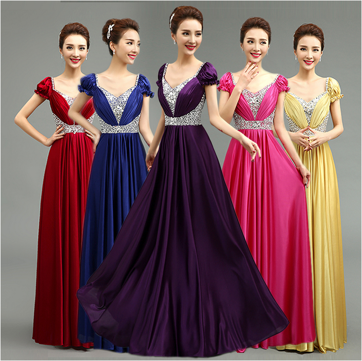 Red And Gold Wedding Bridesmaid Dresses - Wedding Dresses In Jax