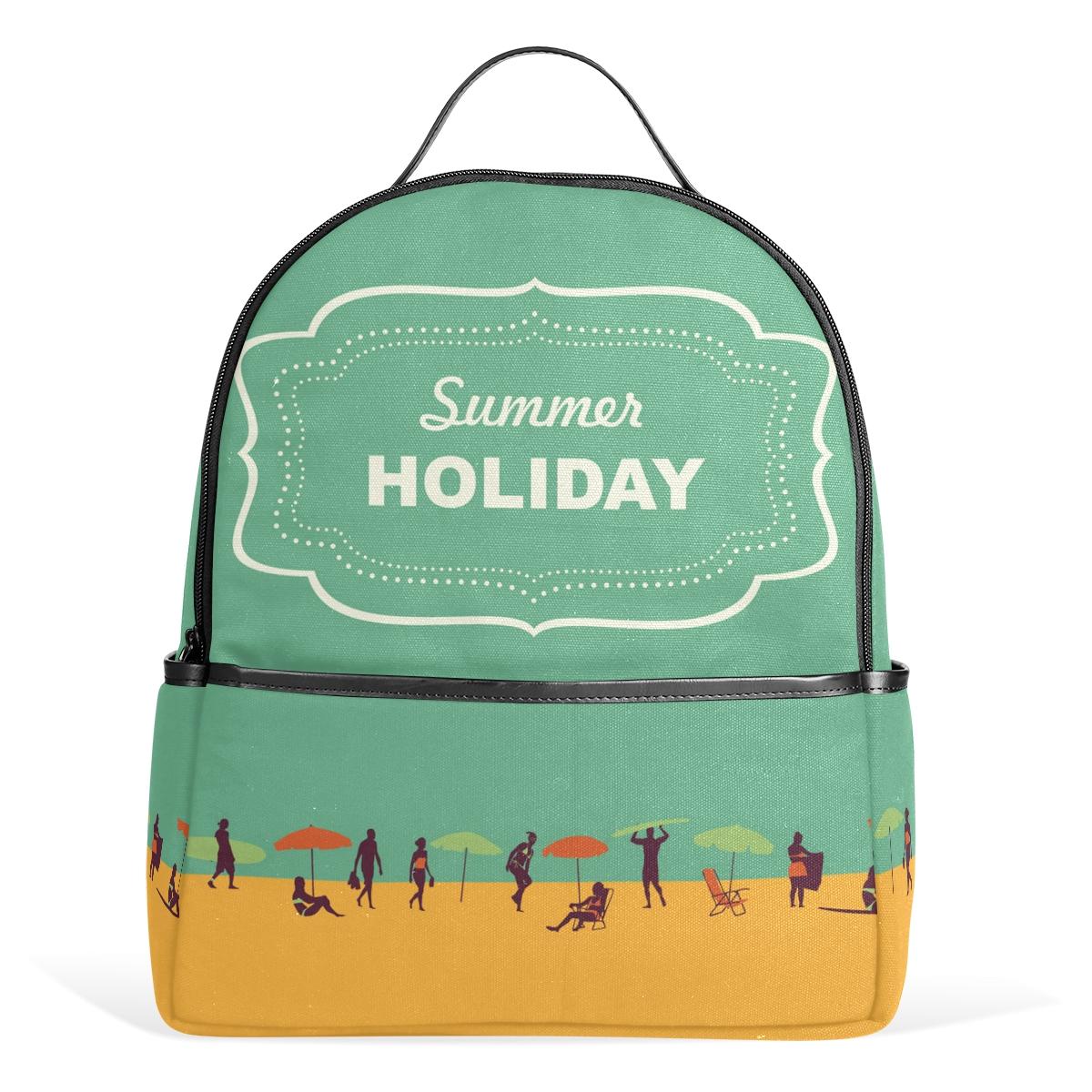 Fashion Women Backpack 2017 Shoulders Schoolbags Mini Girls Pink Mixed Color Travel Bags Landscape Series Mochila Feminina(China (Mainland))
