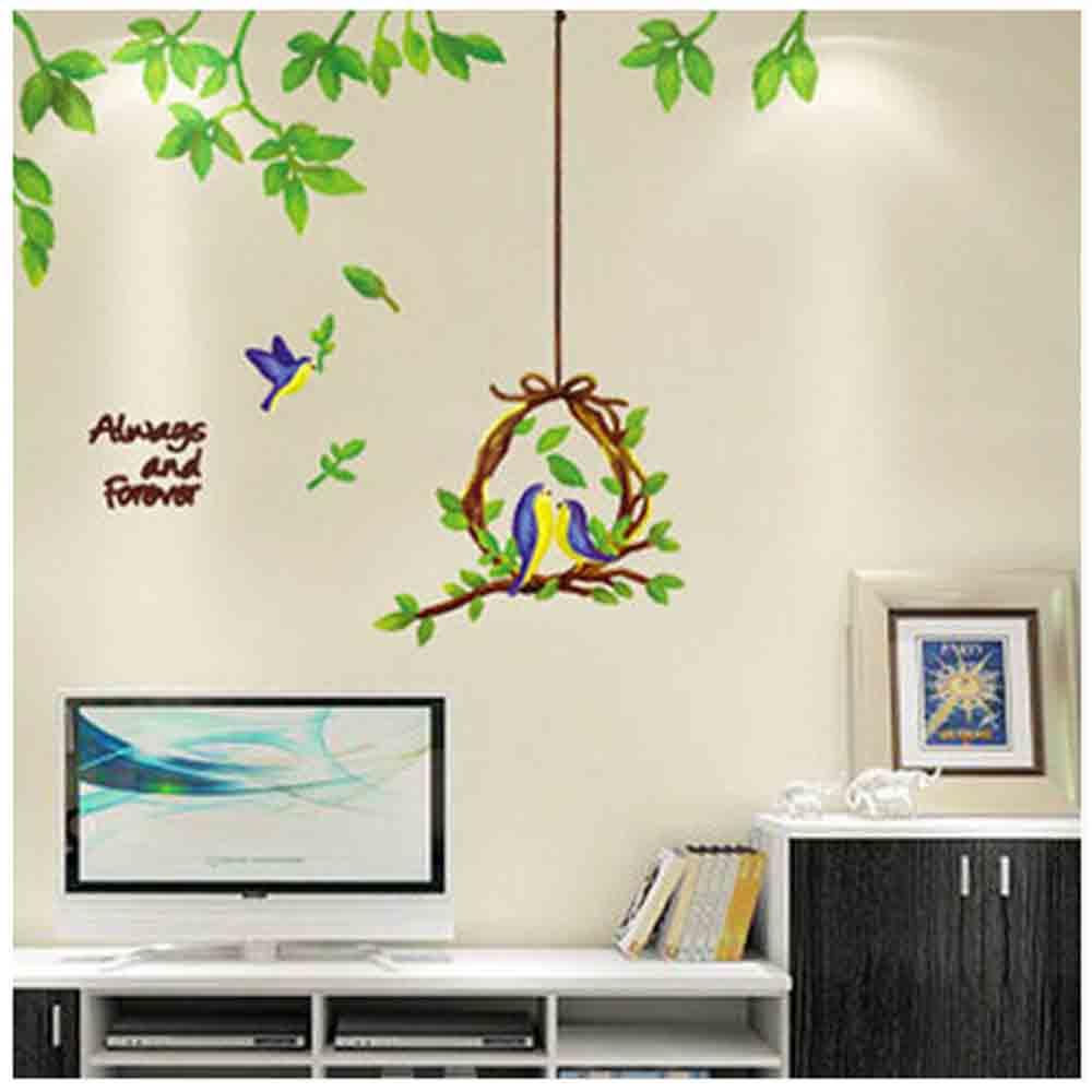 Achetez en gros maison d 39 oiseau horloge en ligne des for Decoration murale oiseau 3d
