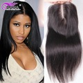 7A Brazilian Virgin Hair Closure With Baby Hair tissage bresilienne avec closure Rosa Hair Products Closure