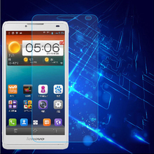 0.3mm Tempered Glass Film for Lenovo S660 9H 2.5D Arc Edge High Transparent Screen Protector Film with Clean Tools