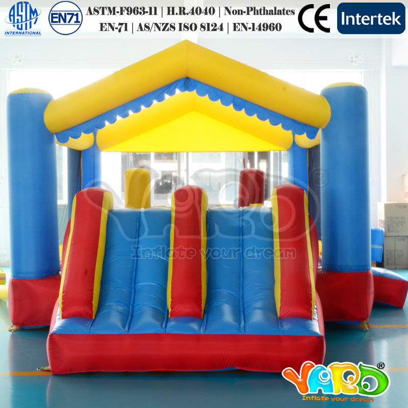 Inflatable Bouncer Cheap Home use Bounce House China Factroy Bouncy Castle With Blower(China (Mainland))