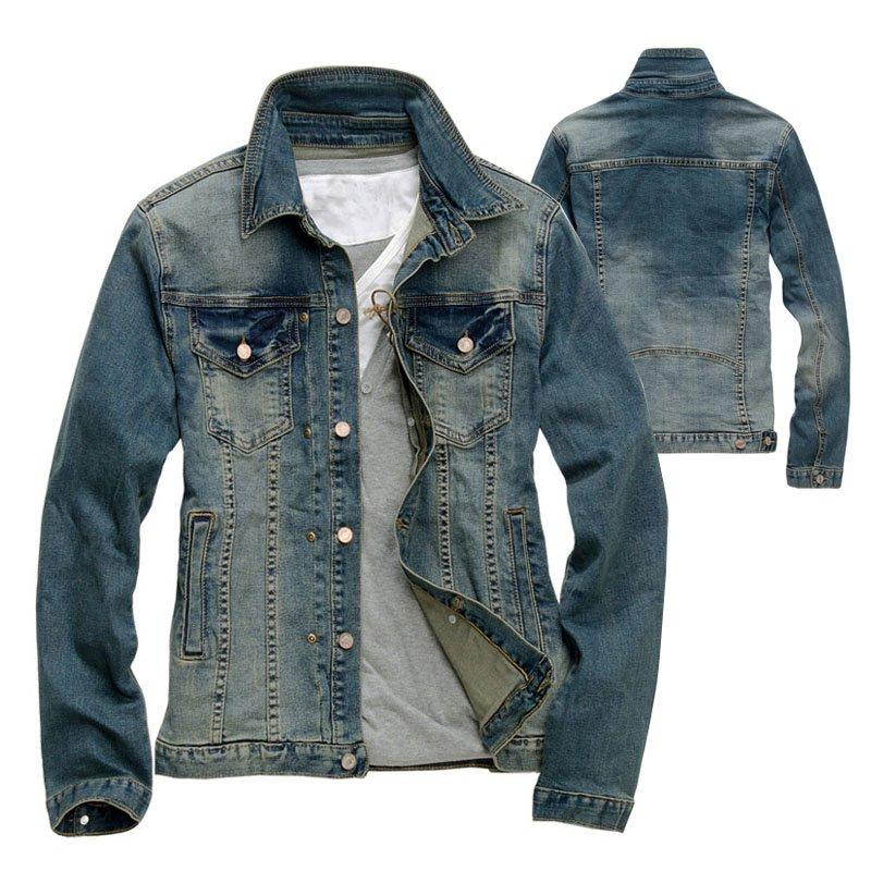 Denim Jackets For Men Cheap Coat Nj