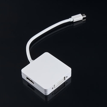 Worldiwde 3 1 Thunderbolt Mini Displayport DP HDMI DVI Adapter Cable MAC pro AIR Newest - Electronic overseas online shopping store