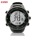 EZON Men s classic round outdoor sports multifunction climbing the table surveying compass watch H011