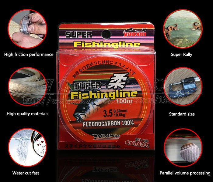 High quality fishing line brand super strong japanese 100m for Fishing line brands