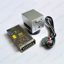 High Speed Laser Scanning Galvo Head 10MM Input Aperture With DC Power Supply For Fiber Laser