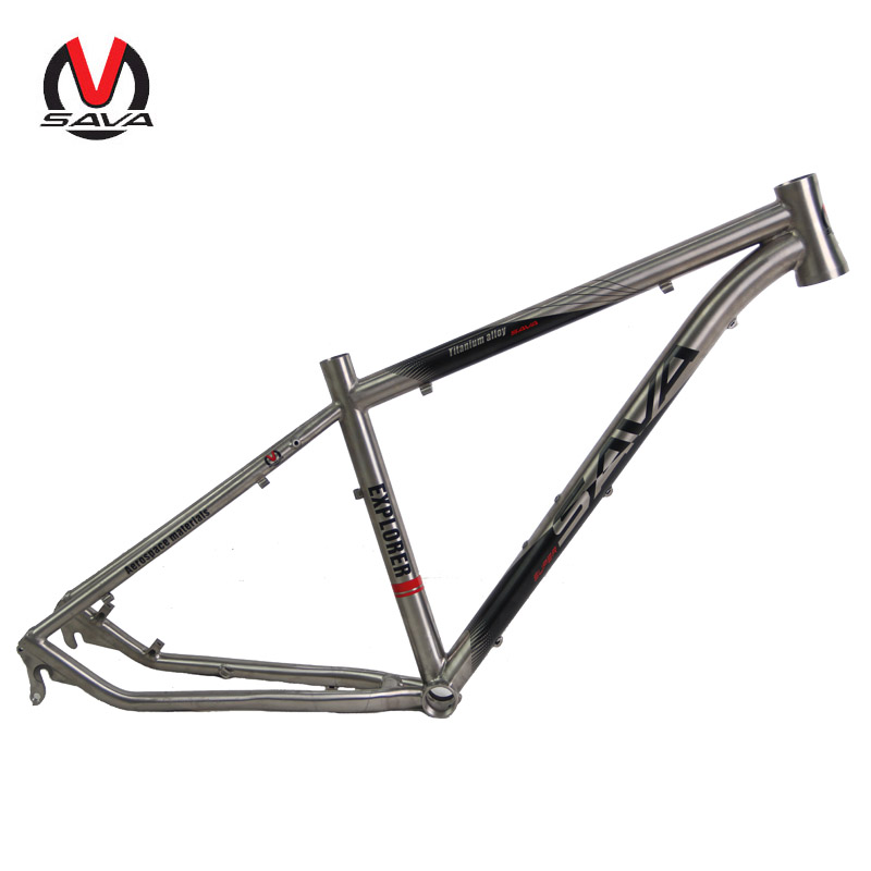 "2016 Titanium MTB Bike Frame 650B 26/27.5/29 inch Titanium Mountain Bike Frame Bicycle Frame Bicycle Parts 16"" / 17"" / 19""(China (Mainland))"