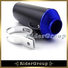 Buy 38mm Exhaust Muffler 50cc 110cc 125cc 150cc 160cc Atomik TTR SSR XR CRF KLX Thumpstar Pit Dirt Bike Motorcycle CNC Blue for $35.90 in AliExpress store