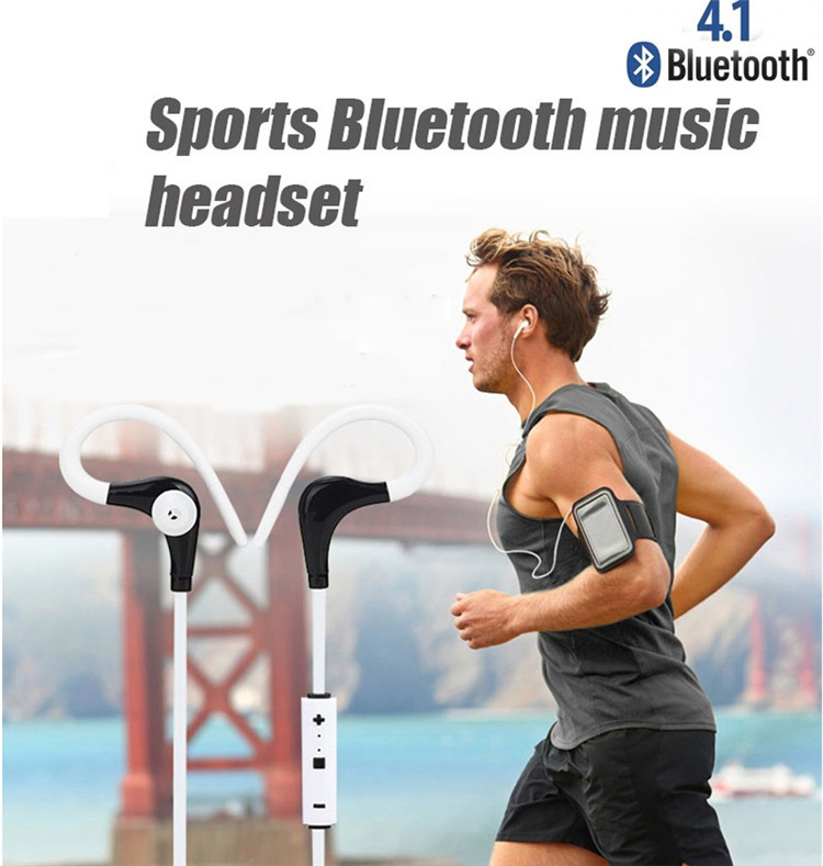 Ear Hook Sport Wireless Bluetooth 4.1 Headphones Earphone Headset Auriculares Bluetooth For Outdoor Sports Phones Computers