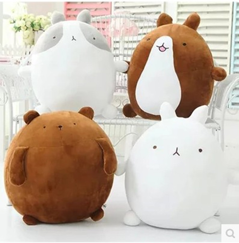 super cute rabbit molang potatoes bear plush toy doll, female valentines day gifts molang rabbit plush toy teddy bear plush doll(China (Mainland))
