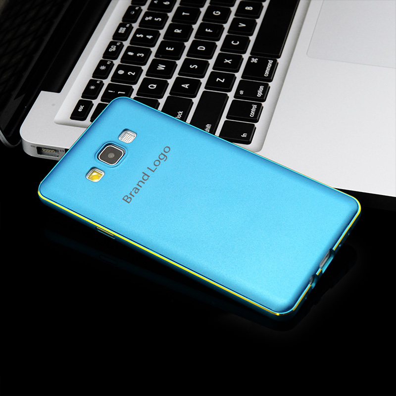 New 2in1 Metal Frame + PC Cover A500 Accessories Cell Mobile Phone Cases Luxury Aluminum Bumper For Samsung Galaxy A5 Case(China (Mainland))