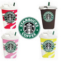 For I6 3D Star buck Coffee Cups Soft Silicon Cases Covers Shields Housings Skins for Apple