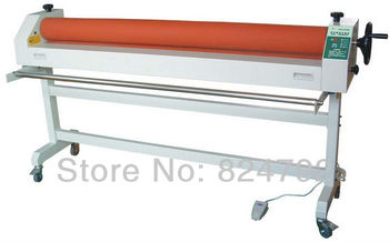 """Free Shipping New Fire 63""""(1600mm) Manul Cold Laminating Machine Laminator Office Equipment"""
