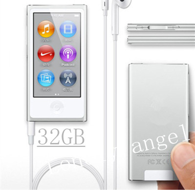 2.0 inch touch screen 32gb flash mp4 player 7th generation radio fm, games, video player, ebook, support picture show colorful(China (Mainland))