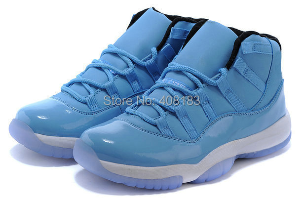 Wholesale 2015 Cheap White and Blue Mens Womens Basketball Shoes For Sale(China (Mainland))