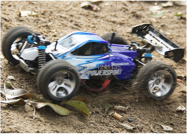 Electronic 2.4G RC Car 1:18 High Speed Remote Control Car 4WD Off Road RC Drift Car Buggy Remote Control Car WL A959(China (Mainland))