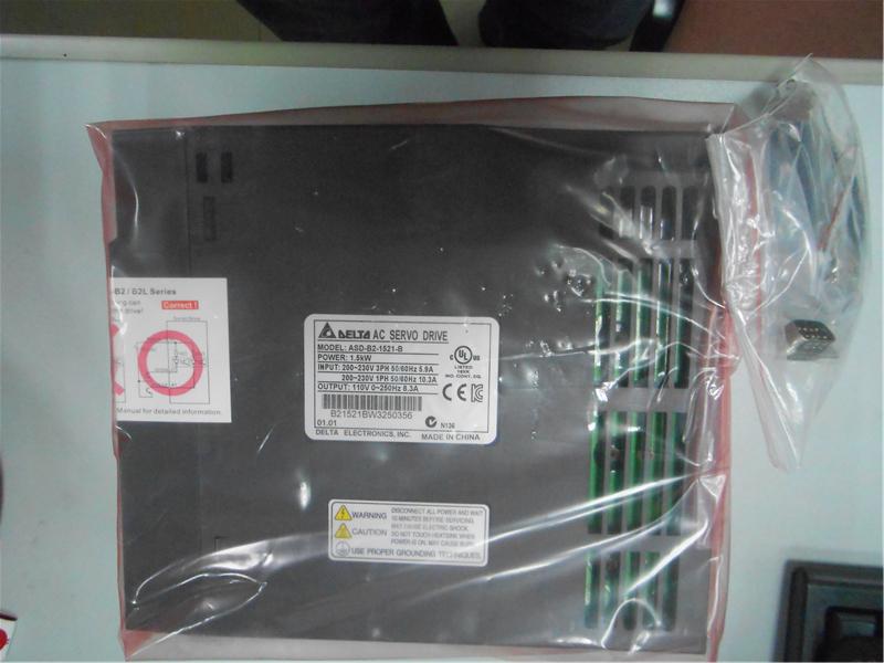 Delta AC Servo Drive B2 Series ASD-B2-1521-B 220V 1 phase 1500W 1.5KW New<br><br>Aliexpress