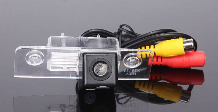 CCD Car Parking Camera for Skoda Octavia Auto Rear View Backup Reverse Camera Review Reversing Kit Free Shipping(China (Mainland))