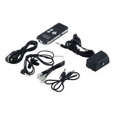 1 conjunto professionnel 8 GB voix USB activé Digital Audio enregistreur vocal Dictaphone avec fonction U disque noir de haute qualité(China (Mainland))
