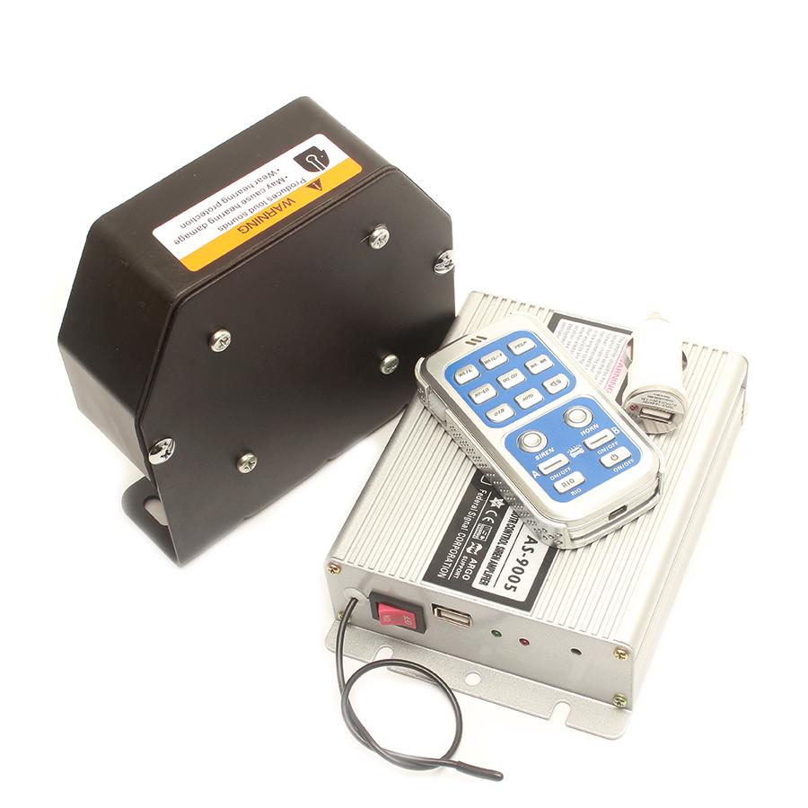 1x 12V Mini Auto LKW Motorrad ATV Raid Sirene Elektrische Horn Alarm 115DB