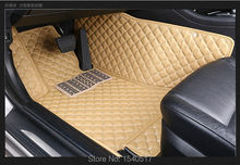 Car styling customed XPE car floor mats for FIAT 500 Bravo Viaggio Freemont Ottimo VOLVO C30 S40 S60 S60L S80 S80L V40 XC60 XC90(China (Mainland))