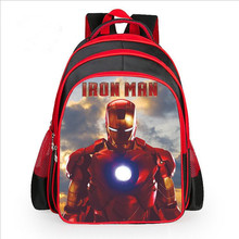 Hot Cartoon Spiderman Backpacks For Kids Children School Bags Primary Backpack Boy mochila(China (Mainland))