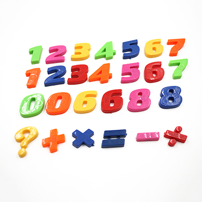 Hot Sale 1Set Colorful Number Sign Fridge Whiteboard Magnet Sticker Baby Educational Toy(China (Mainland))