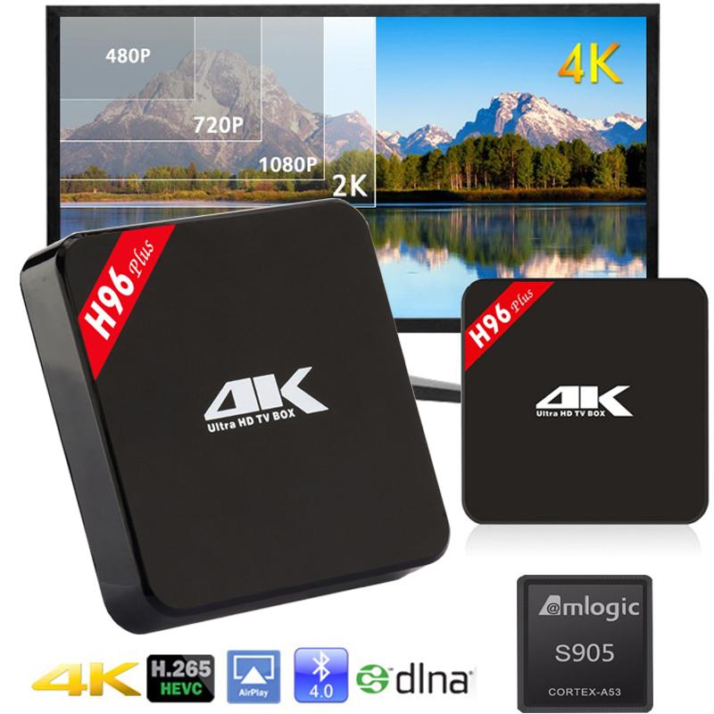 Android TV Set Top box Amlogic s905 RAM 2GB ROM 16GB Android 5.1 Bluetooth 4.0 KODI 16.0 supports Netflix media player Smart TV(China (Mainland))