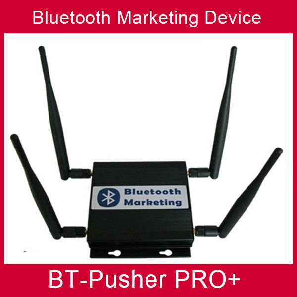 BT-Pusher long range Bluetooth mobiles marketing device with car charger (Poster Materials)(China (Mainland))
