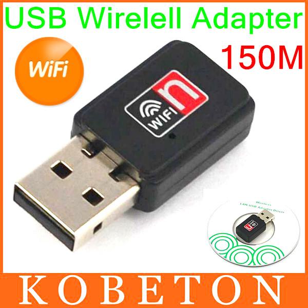 20pcs 150Mbps Mini USB WiFi Wireless Adapter 150M Network LAN Card 802.11 n/g/b RT7601 For Apple Macbook Pro Air Win Xp 7 8