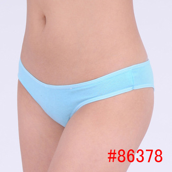 2018 Rushed Solid Cotton Panties Women Cute Real Bow Women Underwear Thongs Gas Panties Briefs