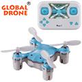Global Drone  GW008C2.4G 4CH Drone RC Nano Drone with camera RTF  Mini Quadcopter Skull RC Drones VS Cheerson CX-10W/JJRC H20