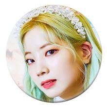 Kpop Korea Dua Kali Ketujuh Mini Album \ Mewah Anda \ 58 Mm Putaran Badge Pin dan Bros untuk Pakaian Topi ransel(China)