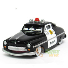 The Pixar Cars Sheriff 1:55 Metal Alloy/Plastic Diecast Toy pull back Car Quality goods brand kids toys(wanju003)