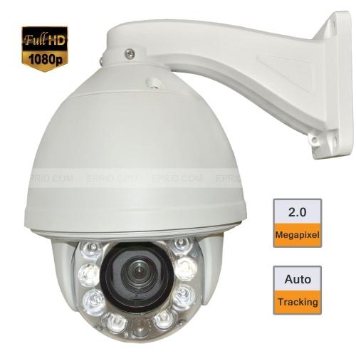 Auto Tracking 5inch 20x Zoom IR PTZ CCTV Camera 1080P 2.0MP 1/2.8 SONY CMOS<br><br>Aliexpress