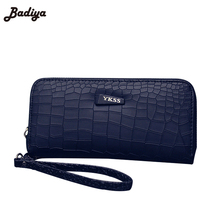 2016 Fashion Women Clutch PU Leather Wallets Female Long Wallet Stone Grain Coin Purses Mobile Phone Bags Lady Card & ID Holders(China (Mainland))