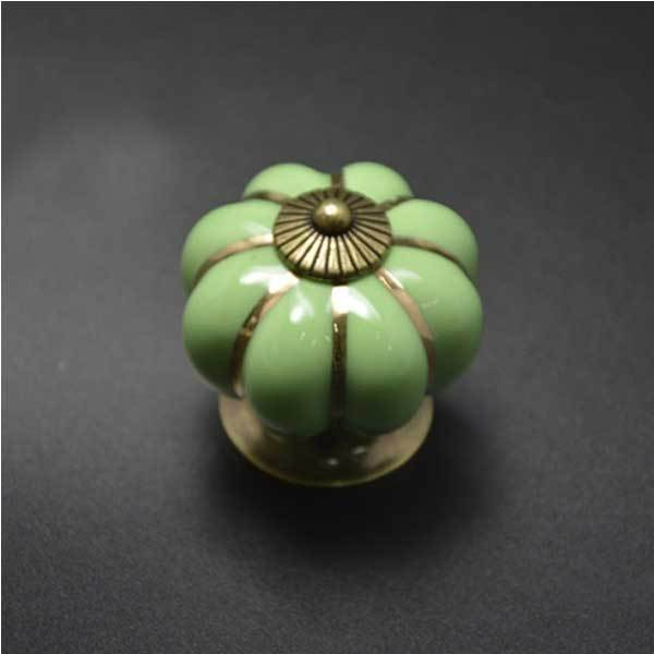 Covington Pumpkins Knobs Handles Ceramic Door Handles Cabinets Cupboard Drawer(China (Mainland))