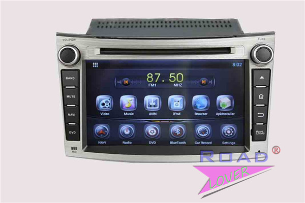 16G Capacitiva Android 4.4 Car GPS Navi for Subaru Legacy/Outback 2009-2012 DVD Player Support 3G Wifi AUX Ipod BT Quad Core(China (Mainland))
