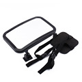 Oversea Car Seat Baby Mirror Adjustable Shatter Proof Rear Facing Infant Seat Mirror