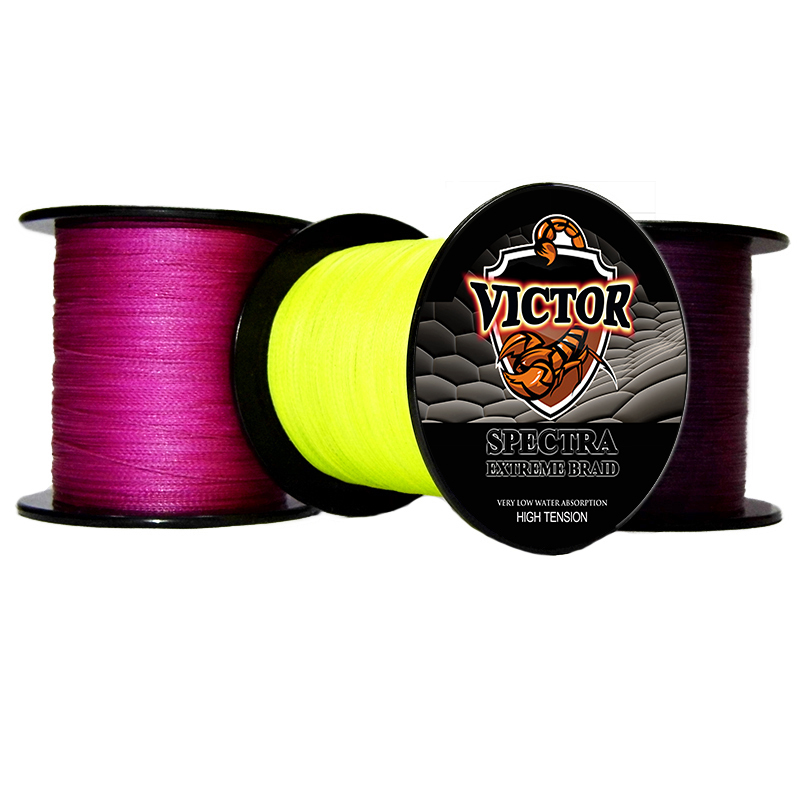 Discount 2015 brands 500M 8LB Moss Green PE Multifilament fishing line knots Braided Fishing Line(China (Mainland))