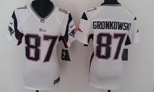 2016 Women Ladies New 12 Tom Brady 87 Rob Gronkowski 11 Julian Edelman,100% stitched logo(China (Mainland))