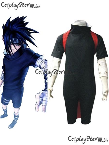 Naruto Cosplay Naruto Shirt Naruto Costume Uchiha Sasuke Cosplay Black Boys Naruto Cosplay Costume
