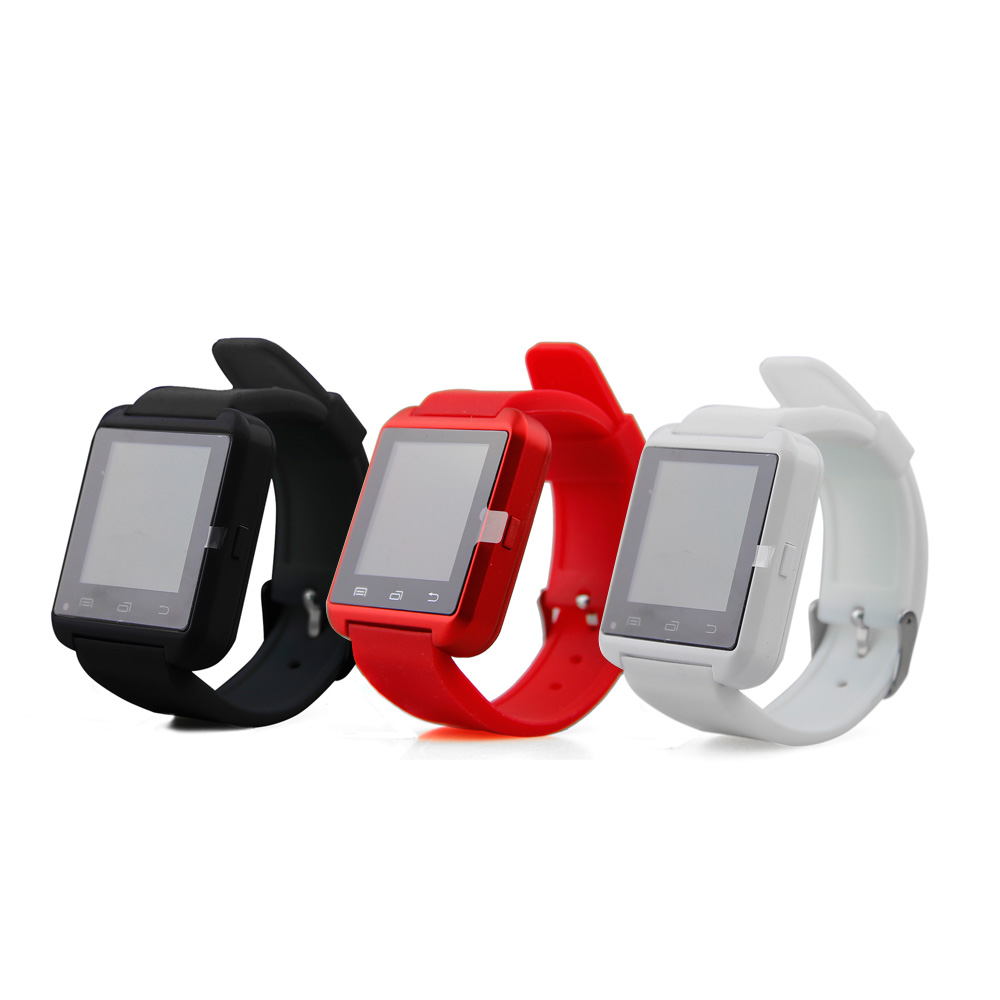 Bluetooth Smart Watch U80 wrist watch sport for iPhone 4/4S/5/5S Samsung S4/Note 2/Note 3 HTC Android Phone<br><br>Aliexpress