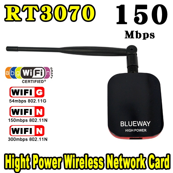 New High Power/Speed N9000 Free Internet Wireless USB WiFi Adapter 150Mbps Long Range + Wi fi Antenna Wi-fi Receiver Hot Sale!!(China (Mainland))