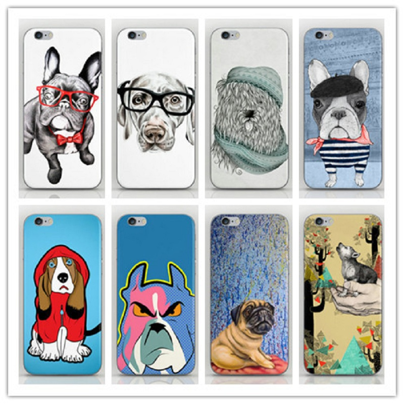 Animal Dog Style Hard PC Back Cover Housing iPhone 4 4s 4g Case iphone cell phone sets - Dream Hero Shop store